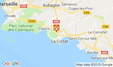 Map La Ciotat House 119180