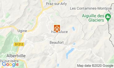 Map Les Saisies Chalet 2713