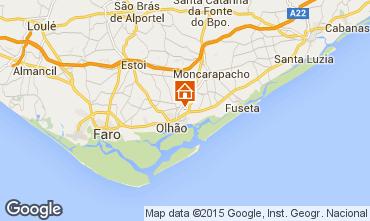 Map Olhão Apartment 54690