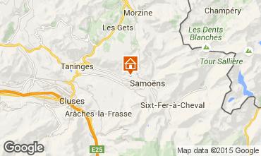 Map Samo�ns Chalet 73405