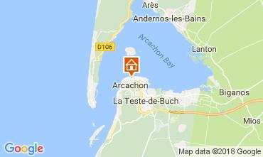 Map Arcachon Apartment 113009