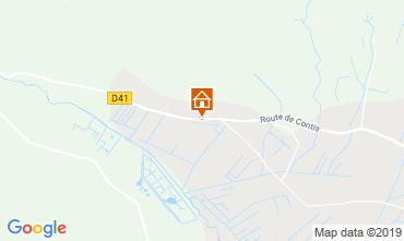 Map Saint-Julien-en-Born Mobile home 119704