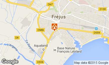 Map Fréjus Apartment 68195
