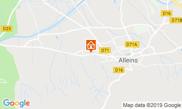 Map Alleins House 114019