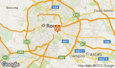 Map Rome Apartment 24789