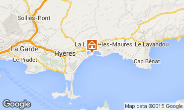 Map Hyères Apartment 28370