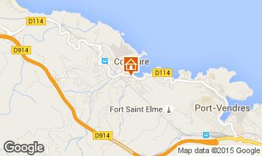 Map Collioure Apartment 82736