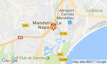 Map Mandelieu la Napoule Apartment 70823
