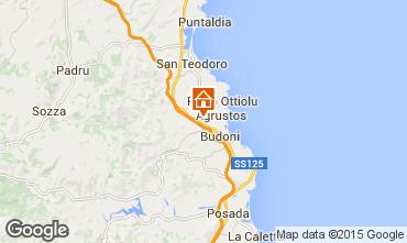 Map San Teodoro Apartment 83258