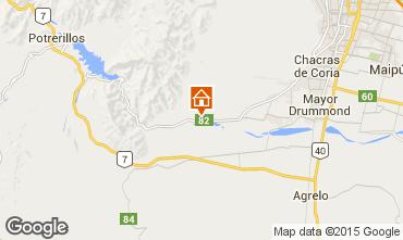 Map Mendoza Vacation rental 75373