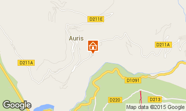 Map Auris en Oisans House 371
