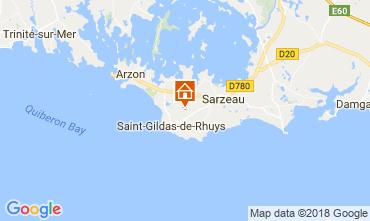 Map Saint Gildas de Rhuys House 10922
