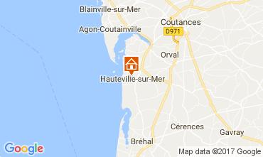Map Hauteville-sur-Mer Vacation rental 40949