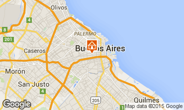 Map Buenos Aires Bed and breakfast 102146