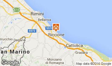 Map Riccione Apartment 48193
