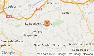 Map Biarritz Bungalow 53095