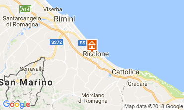 Map Riccione Apartment 114901