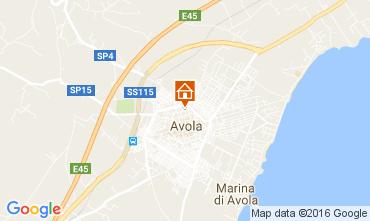 Map Avola Apartment 54361