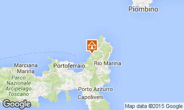 Map Rio nell'Elba Apartment 85148