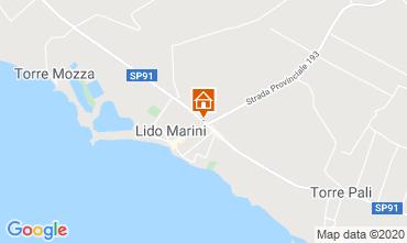 Map Lido Marini Villa 86584