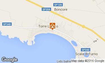 Map Torre Lapillo Apartment 103309