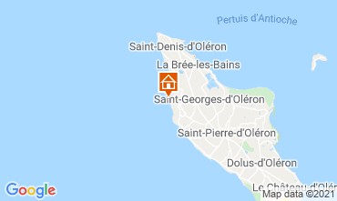 Map Saint Georges d'Oléron House 117753