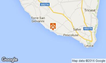 Map Lido Marini Villa 86623