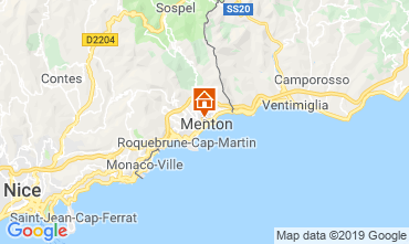 Map Menton Apartment 66868