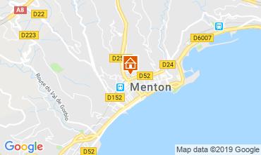 Map Menton Apartment 66868