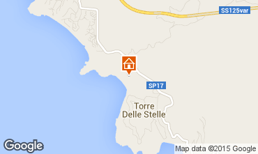 Map Torre delle Stelle One-room apartment 78083