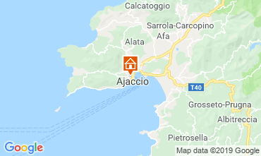 Map Ajaccio One-room apartment 119739