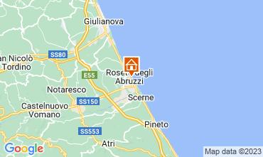 Map Roseto degli Abruzzi Apartment 34995