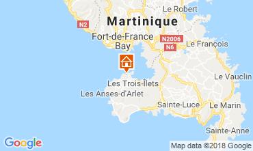 Map Trois Ilets Apartment 117239
