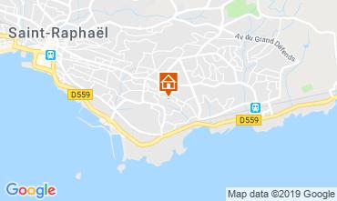 Map Saint Raphael Apartment 119326