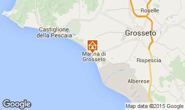 Map Marina di Grosseto Apartment 82312
