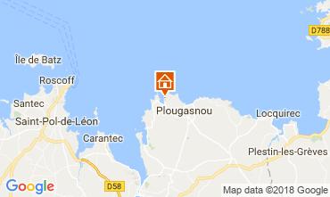 Map Plougasnou Villa 114288