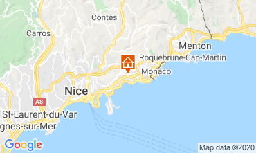 Map Monaco Villa 5424