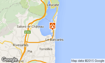 Map Le Barcares House 10542