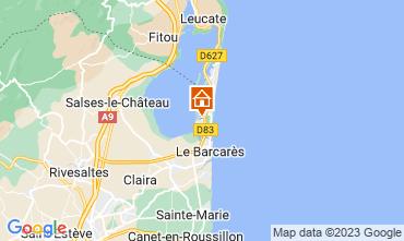Map Le Barcares House 10542