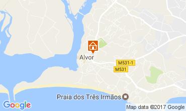Map Alvor Villa 108656