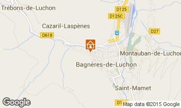 Map Luchon Superbagneres Apartment 60548