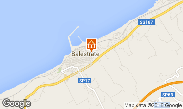 Map Balestrate Apartment 97860