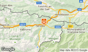 Map Tarvisio Chalet 24766