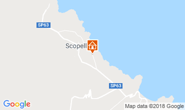 Map Scopello Villa 117032