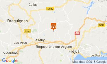 Map Roquebrune sur Argens Villa 115161