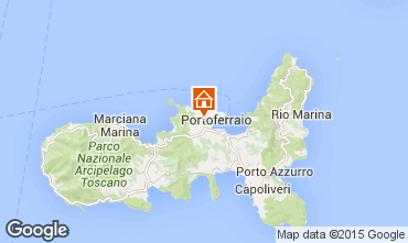 Map Portoferraio Apartment 45992