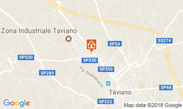 Map Gallipoli Apartment 95829