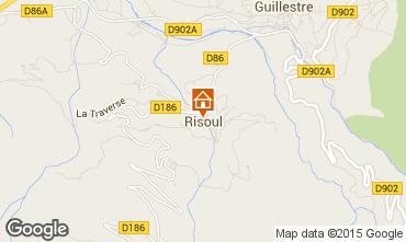 Map Risoul 1850 Apartment 67220
