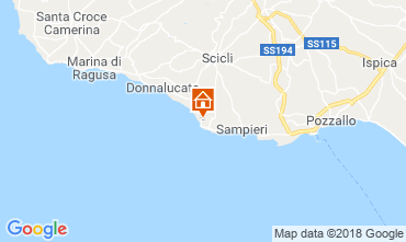 Map Scicli Apartment 69283