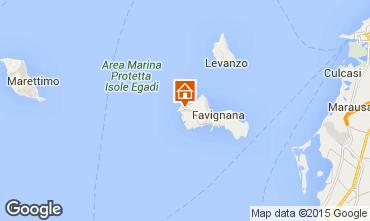 Map Favignana Villa 72485